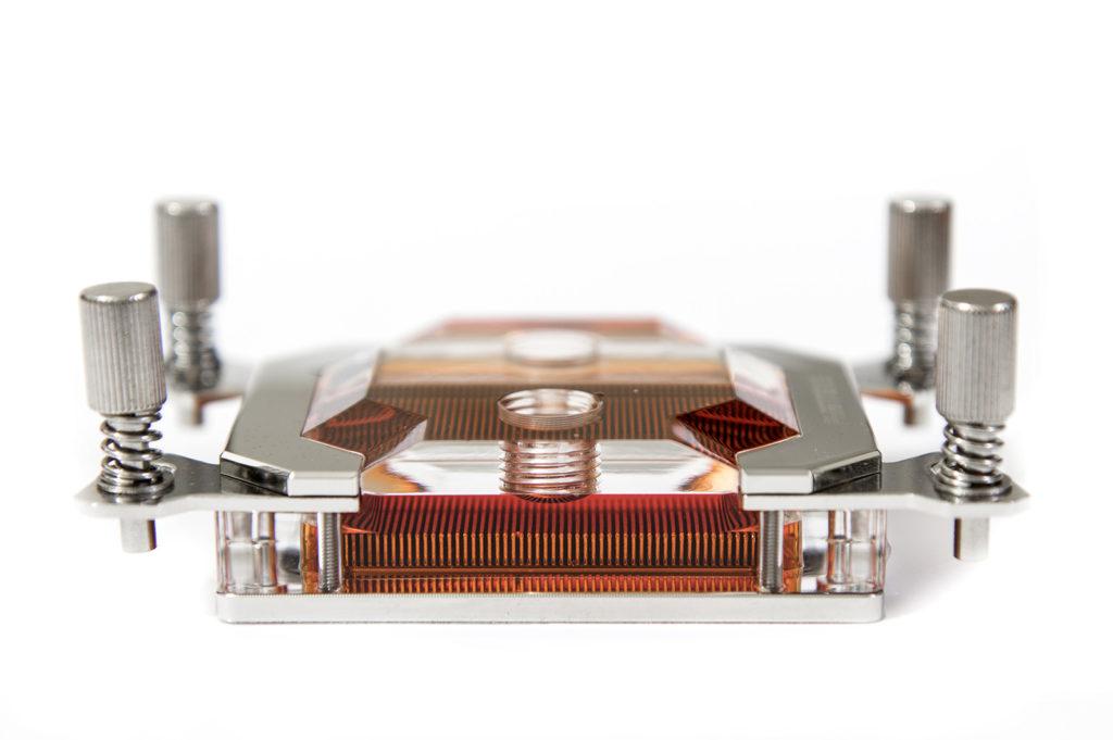 Silver Nickel Wasserk/ühlung /Überwachung Phobya Thermosensor G1//4