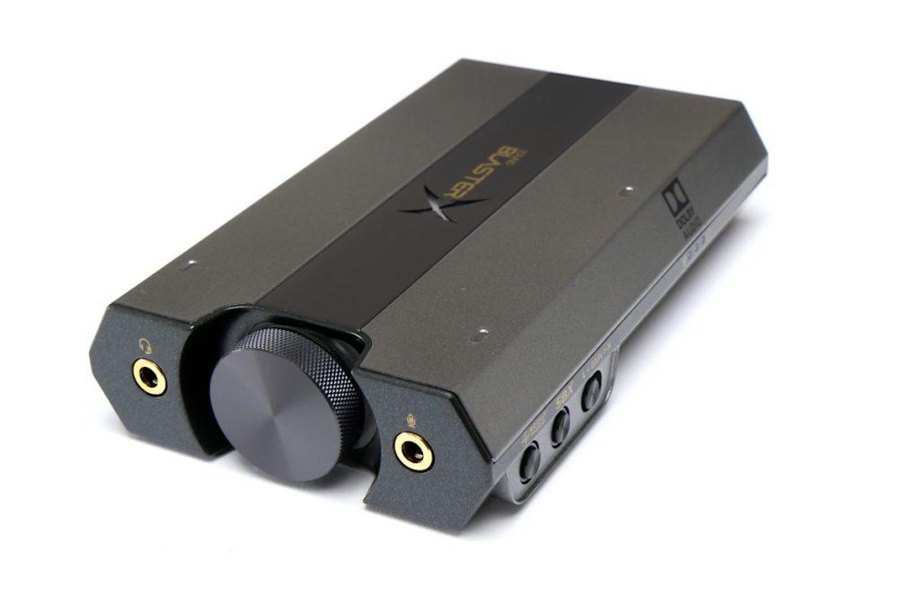 Vorderansicht SoundblasterX G6