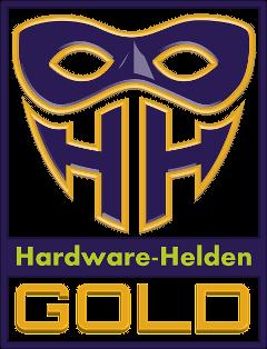 Hardware-Helden Gold Auszeichnung