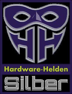 Hardware-Helden Silber Auszeichnung