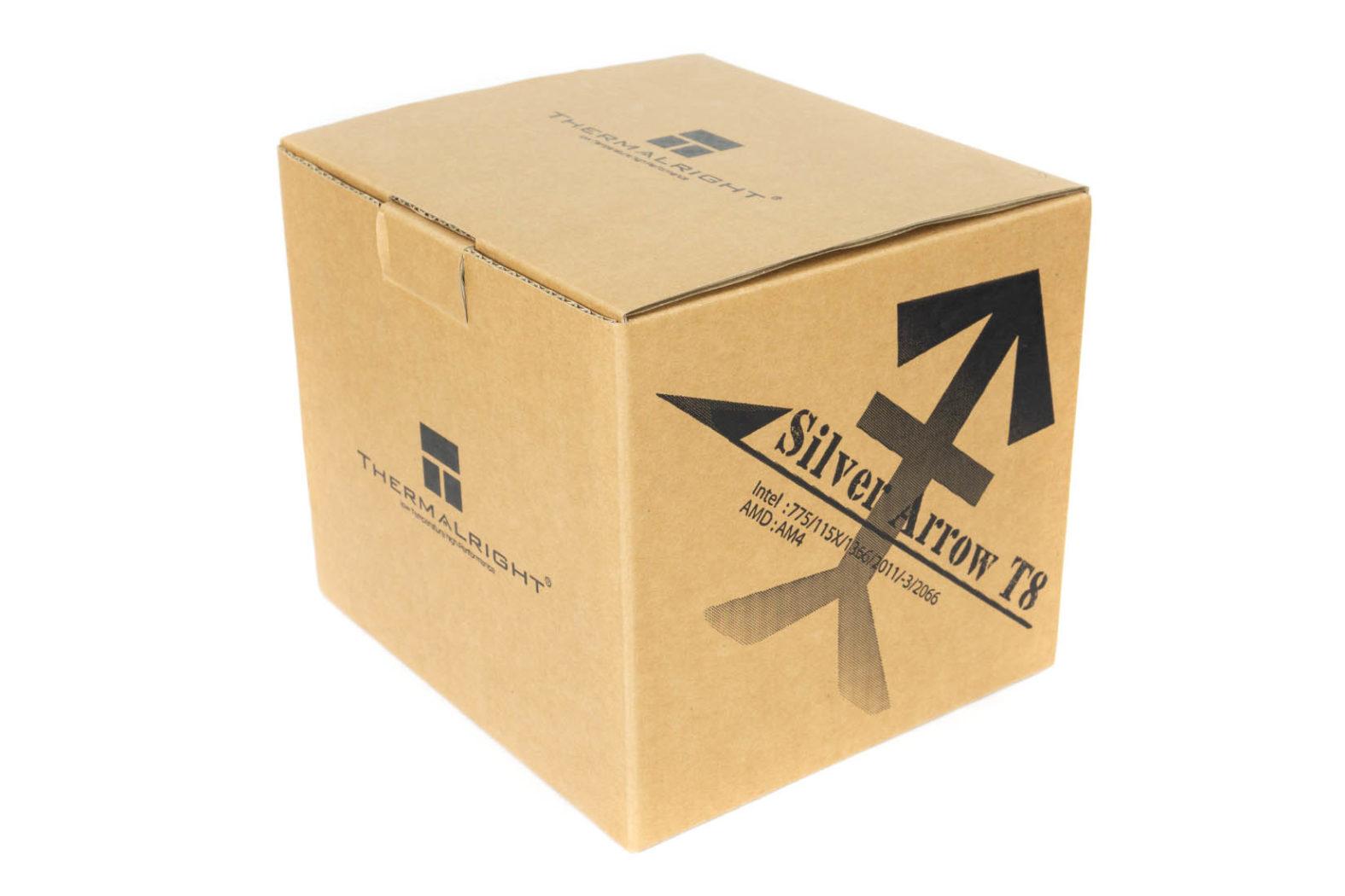 Silver Arrow T8 Verpackung