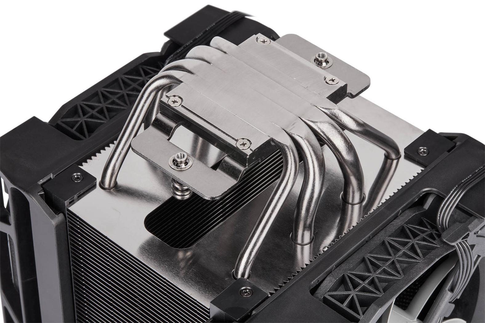 Corsair A500 Heatpipes