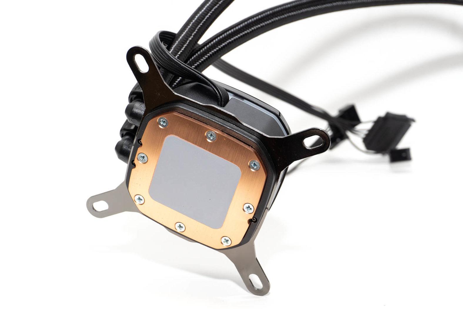 Corsair iCue H100i RGB Pro XT Boden