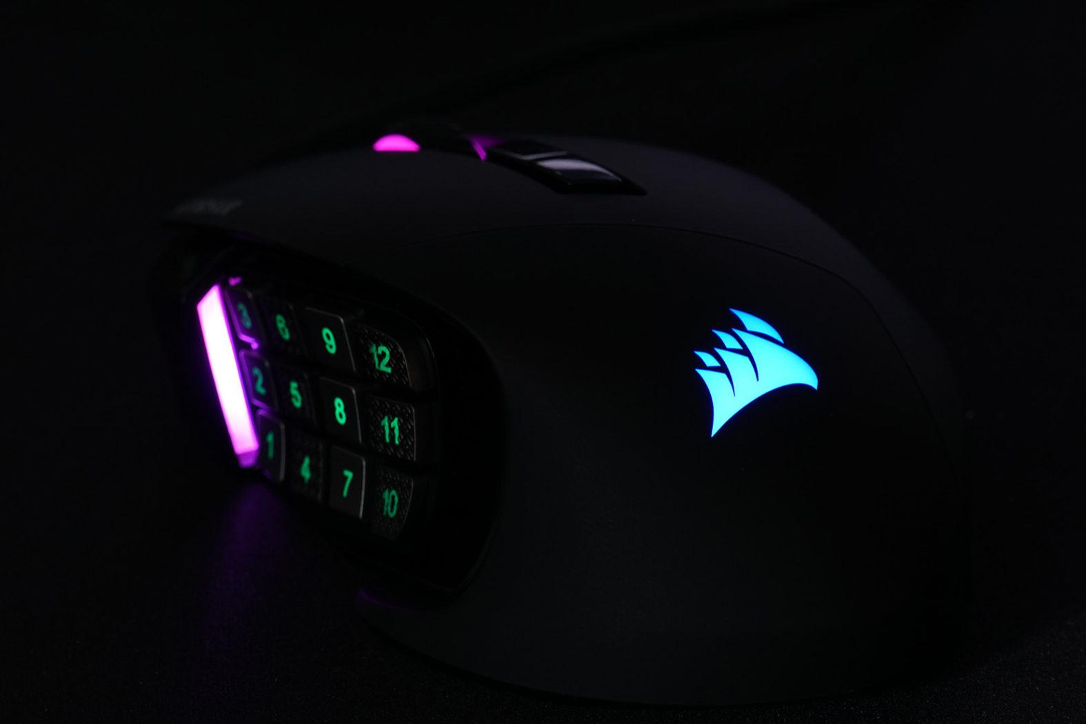Corsair Scimitar RGB Beleuchtung