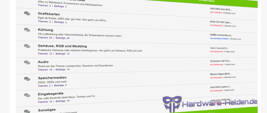 Hardware-Helden Forum