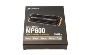 Corsair MP600 Verpackung