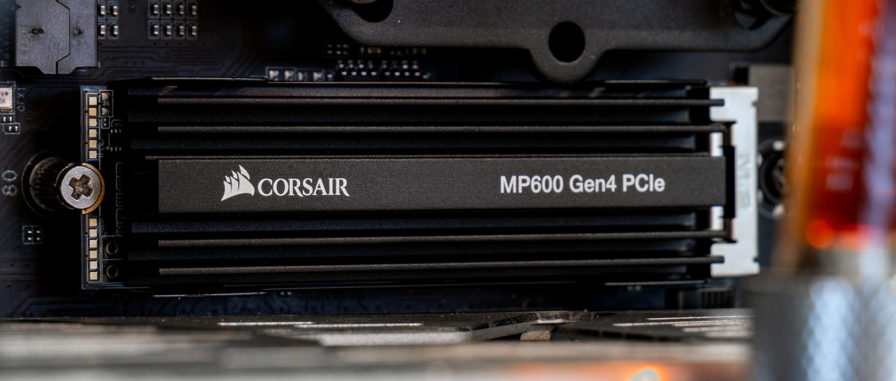 Corsair MP600 Montage