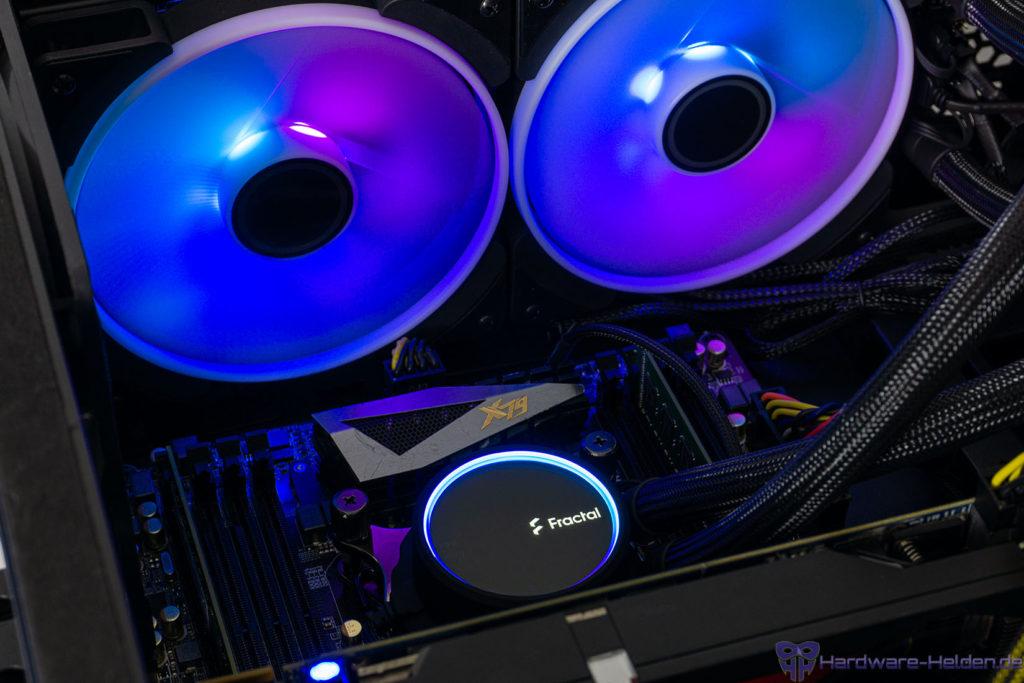 Fractal AiO RGB Beleuchtung