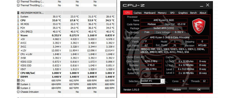 Ryzen 3600 Overclocking Guide