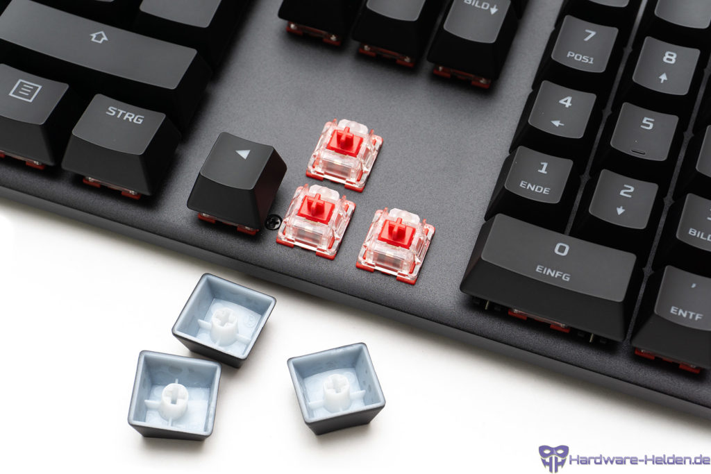 hyperx switches red