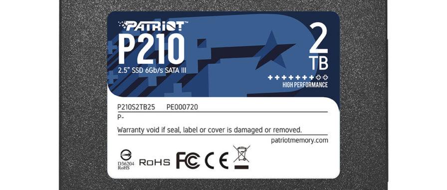 Patriot P210 SSD SATA