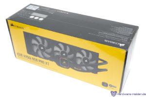 Corsair H150i Pro RGB XT Verpackung