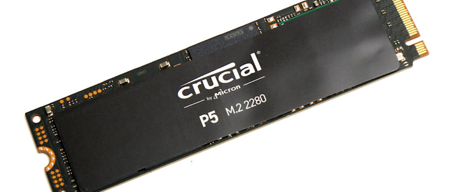 Crucial P5 Test Review