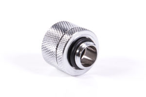 Alphacool Hartube Fitting 14 mm Eiszapfen chrome