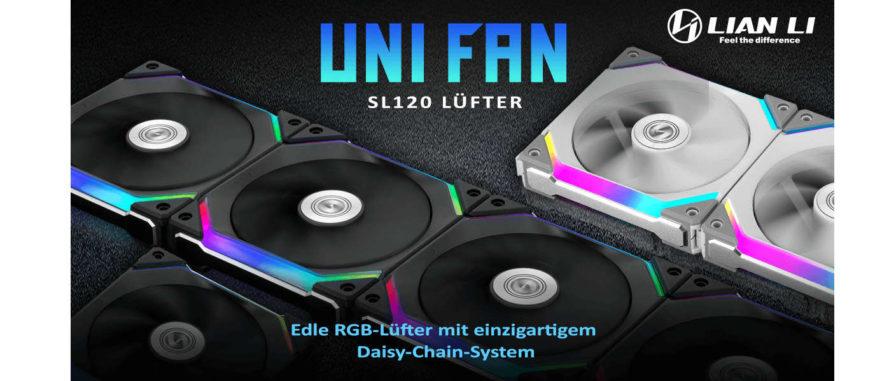 Lian Li UNI FAN SL120 kabellose Lüfter