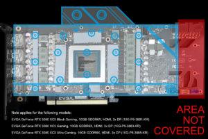 Alphacool EVGA XC3 RTX 3080 Wasserkühler