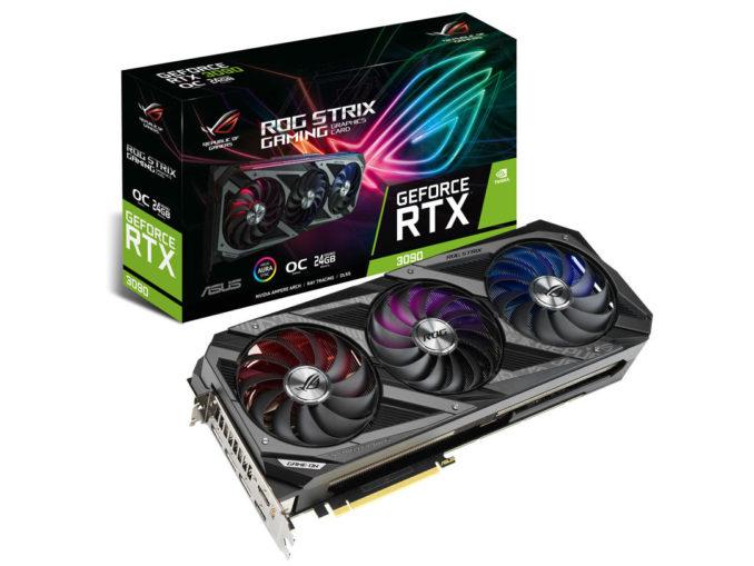 ASUS RTX 3090 ROG STRIX OC