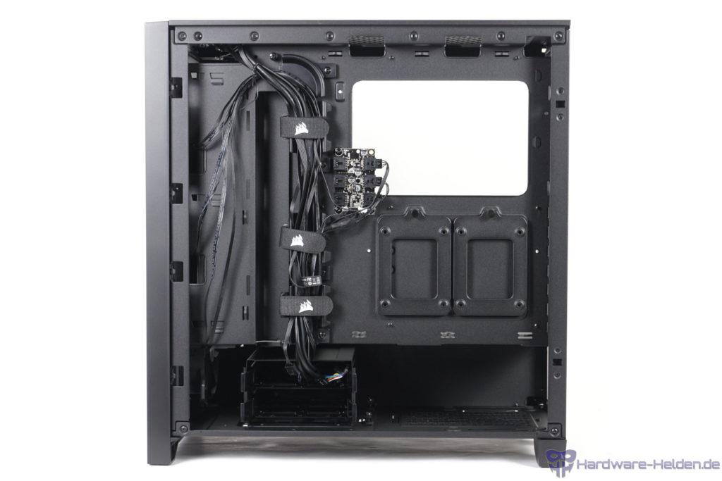 Corsair 4000X RGB Rückseite