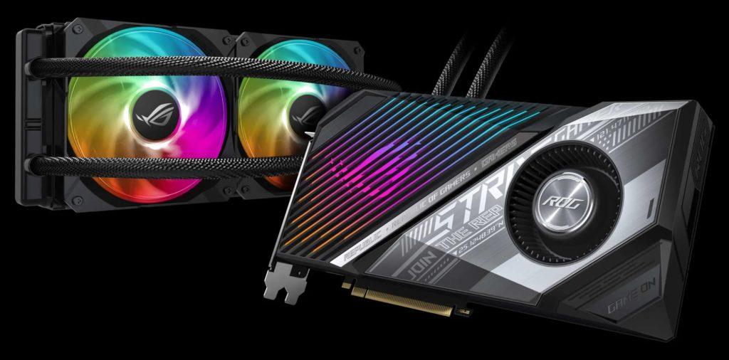 ASUS Strix AiO Wasserkühlung RX 6800 AMD