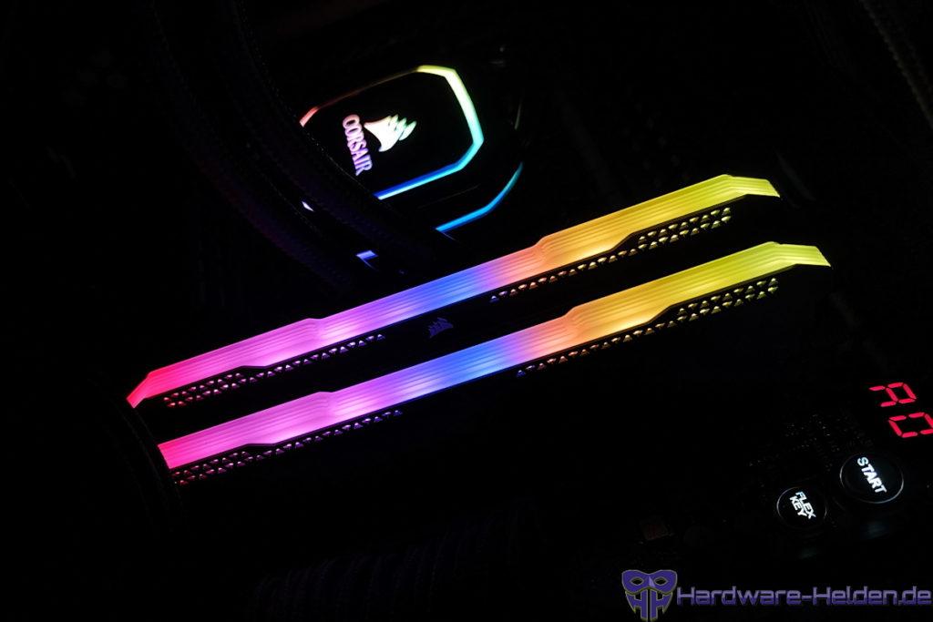 Corsair Vengeance RGB Pro SL Beleuchtung