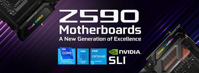 EVGA Z590 Mainboard