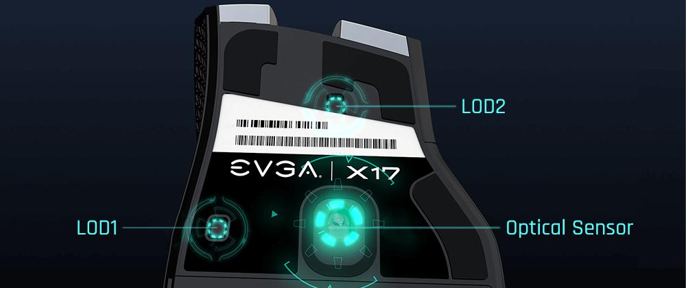 EVGA X17 Maus