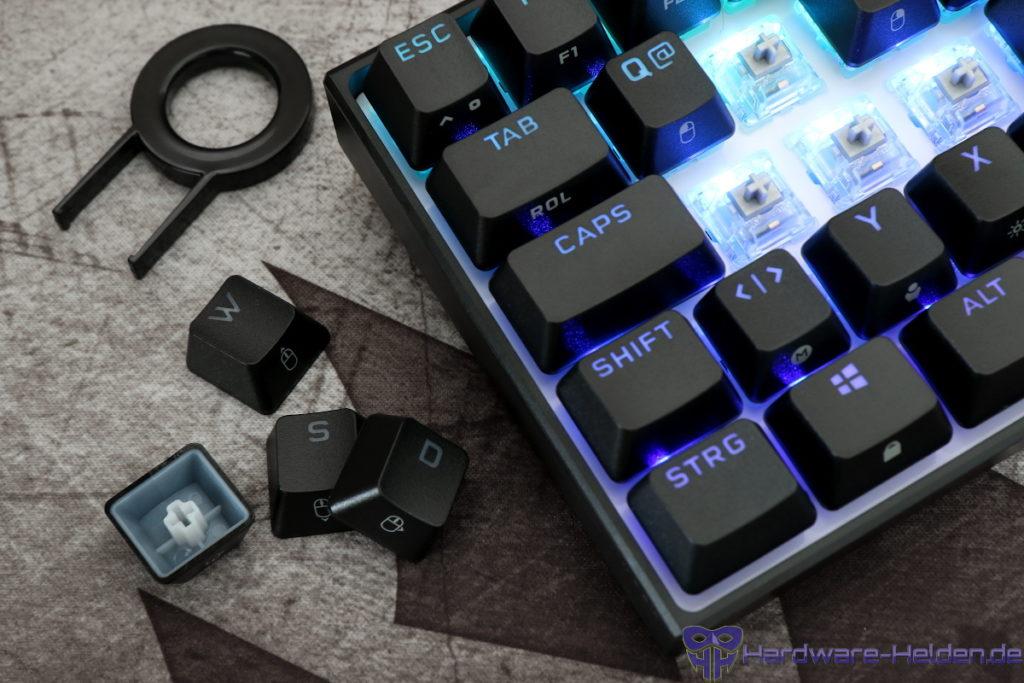 Corsair K65 RGB Mini PBT Switches