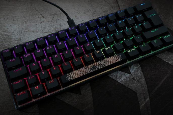 Corsair K65 RGB Mini Test