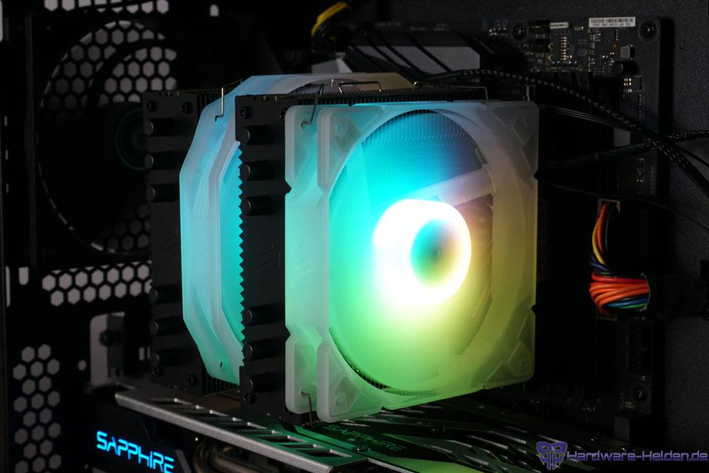SilentiumPC Grandis 3 EVO ARGB Beleuchtung