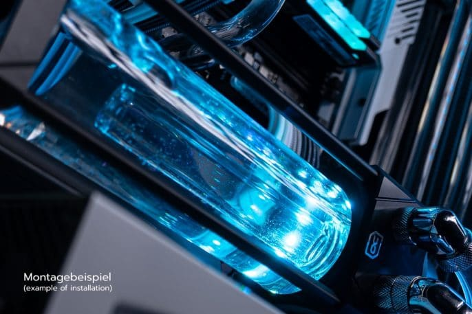 Alphacool Eisbecher Aurora D5 Acetal/Glas