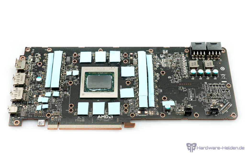 EK Water Blocks EK-Quantum Vector RX 6800/6900 D-RGB im Test pads