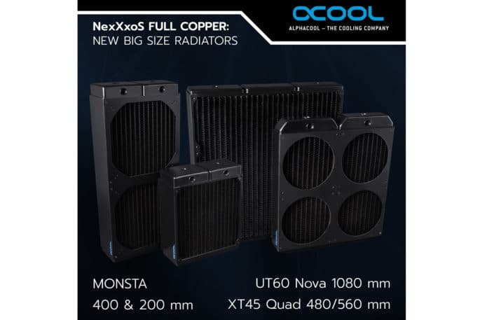 Alphacool Radiator Nova 200 400 mm