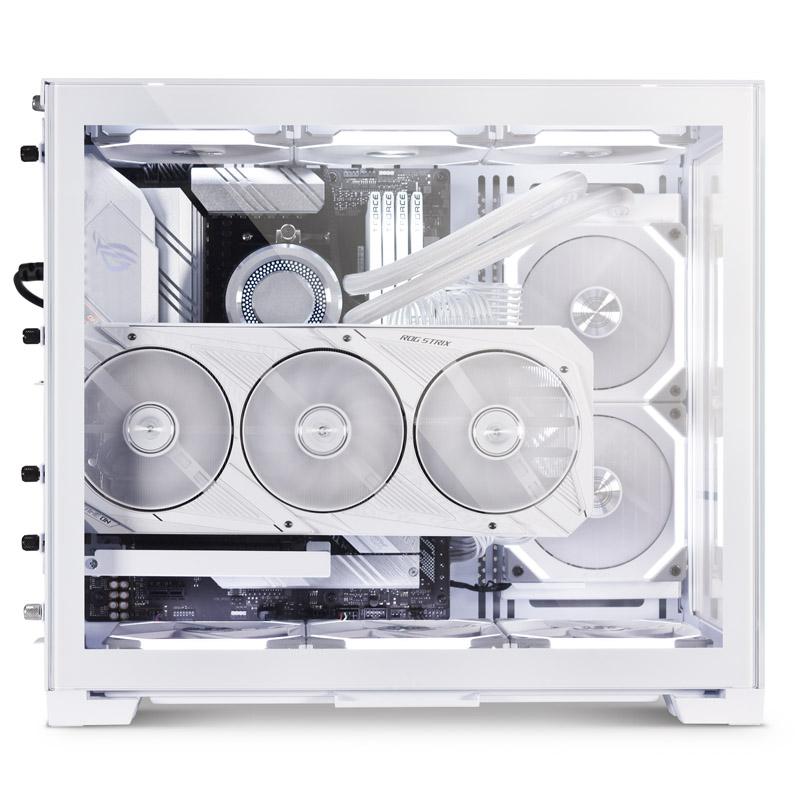 Lian Li O11 Dynamic Mini Snow Edition weiß