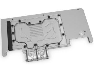 EK-Quantum Vector Strix RTX 3080/3090 Active Backplates plexi d-argb
