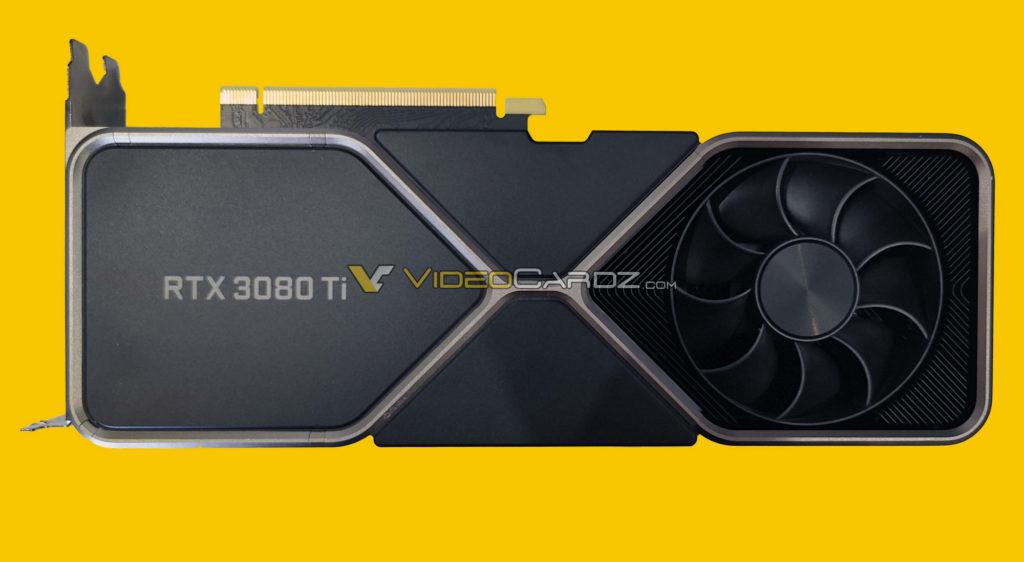 RTX 3080 TI Back Rückseite