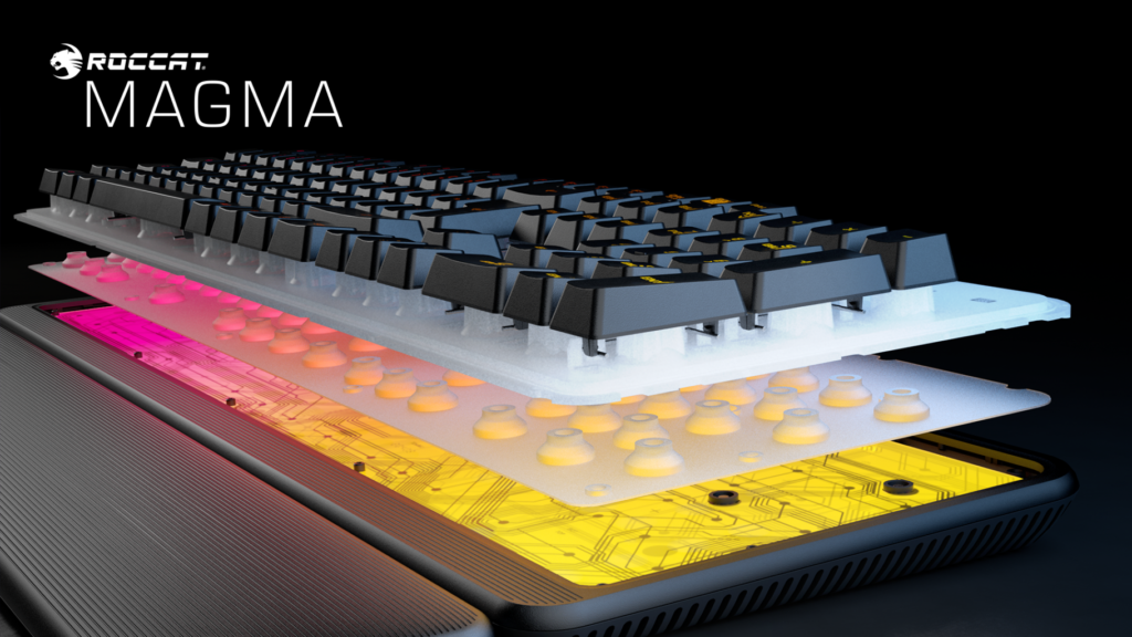 roccat magma rgb tastatur