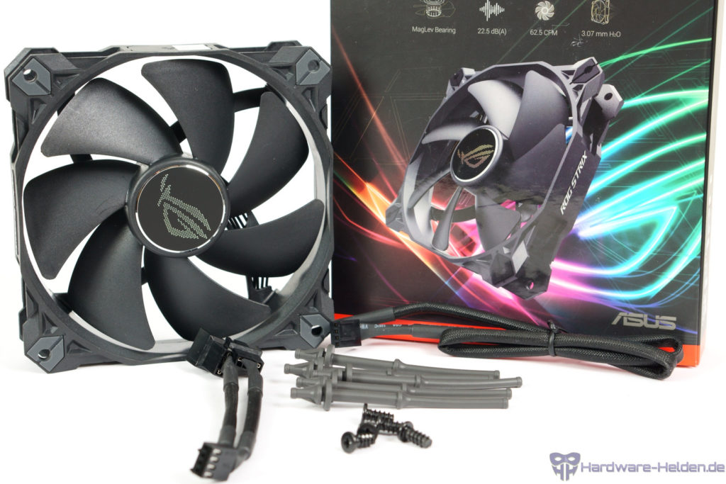 asus rog xf 120 unboxing