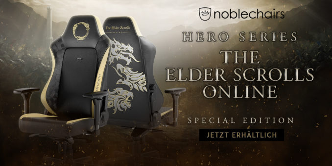 noblechairs HERO Elder Scrolls Online Special Edition