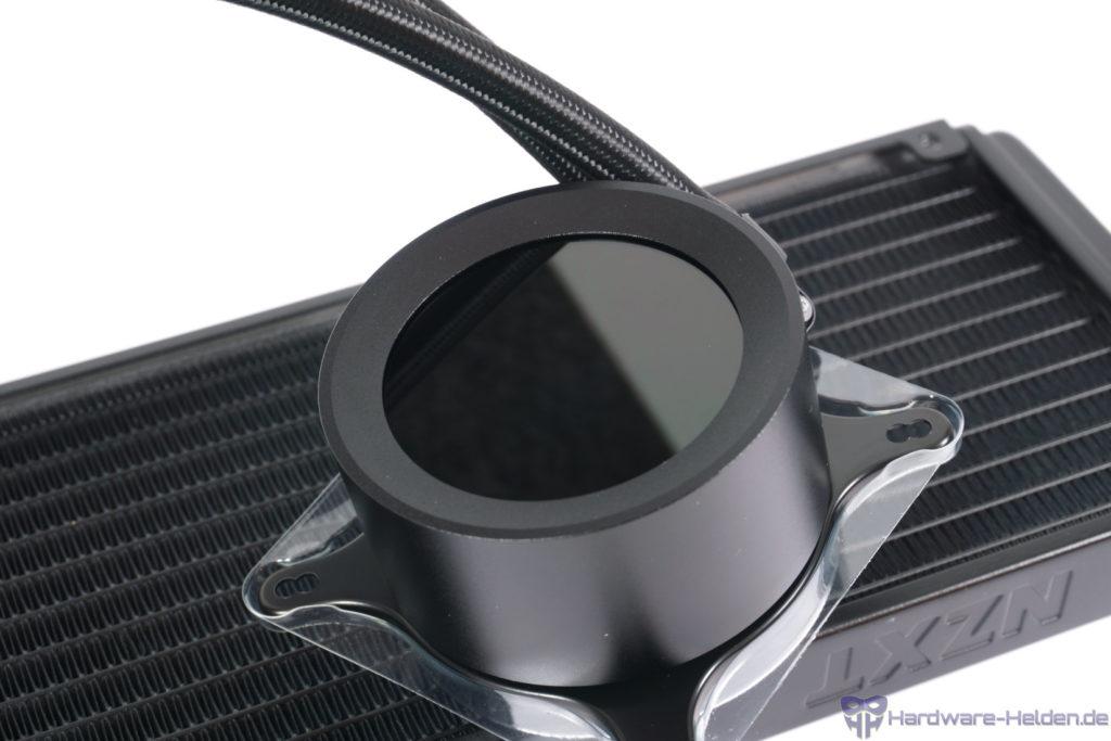 Pumpengehäuse mit LCD