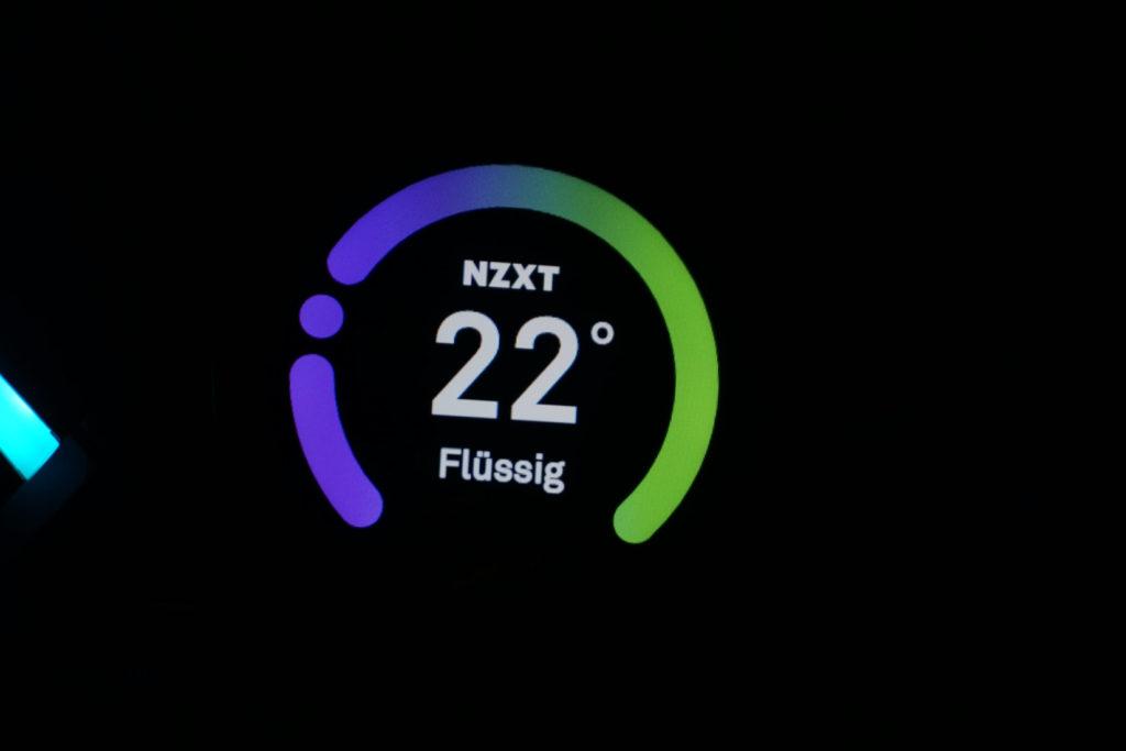 nzxt kraken display