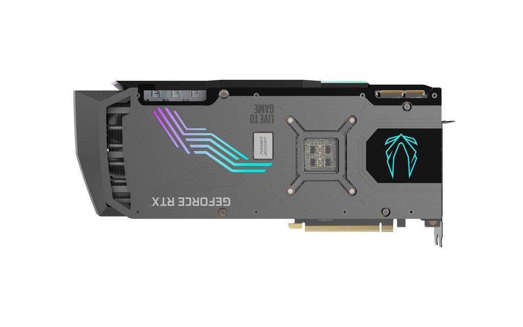ZOTAC GeForce RTX 3090 AMP Extreme Holo backplate