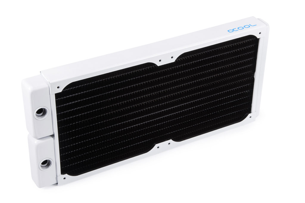 Alphacool NexXxoS Full Copper Radiator V.2 White Special Edition