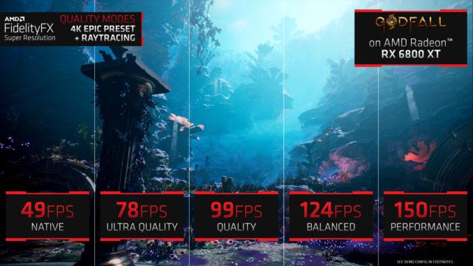 AMD FidelityFX Super Resolution Release