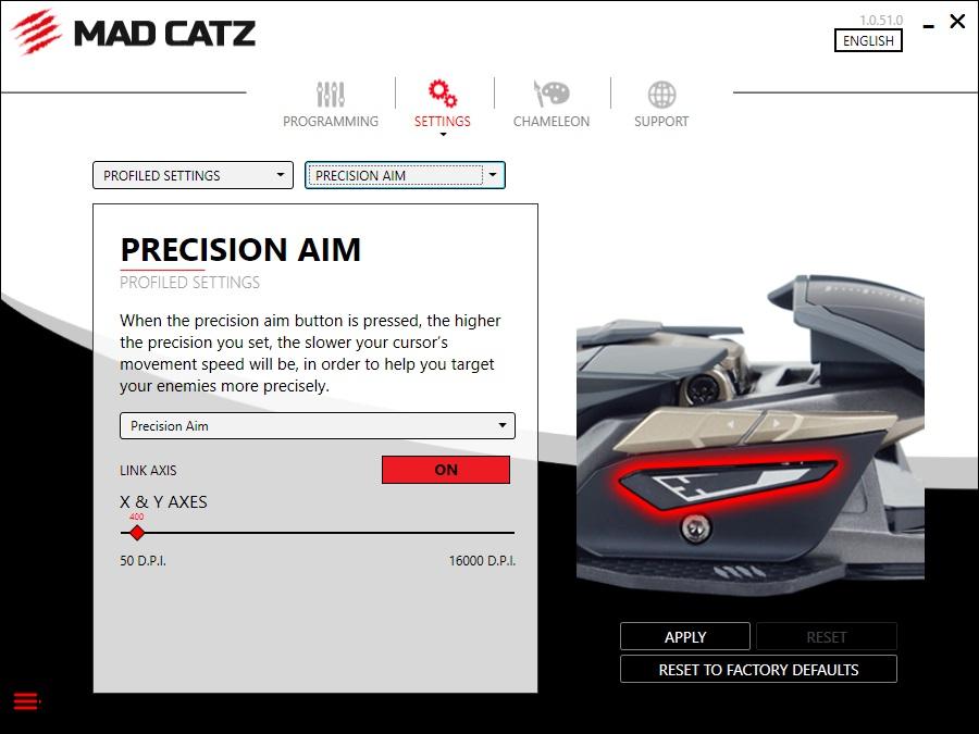 Mad Catz precision aim