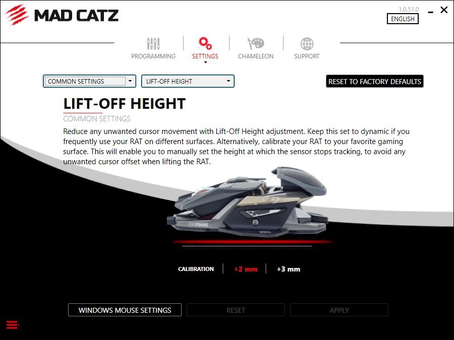 Mad Catz rat lod