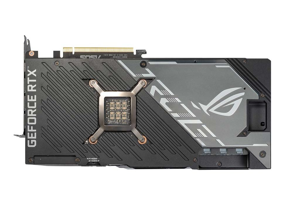 ROG Strix LC GeForce RTX 3080 Ti Backplate