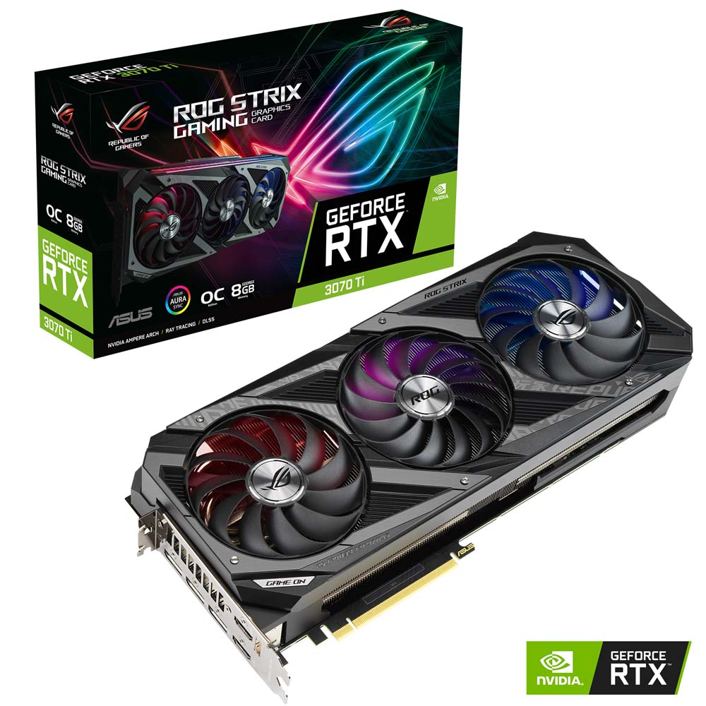ROG Strix GeForce RTX 3070 Ti Box