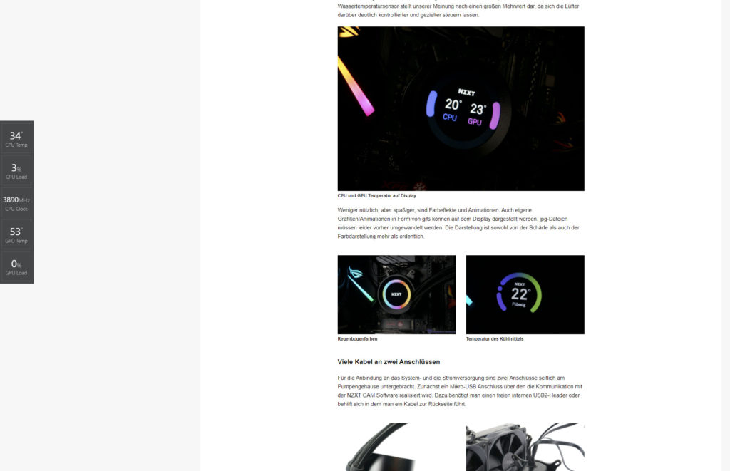 nzxt desktop widget