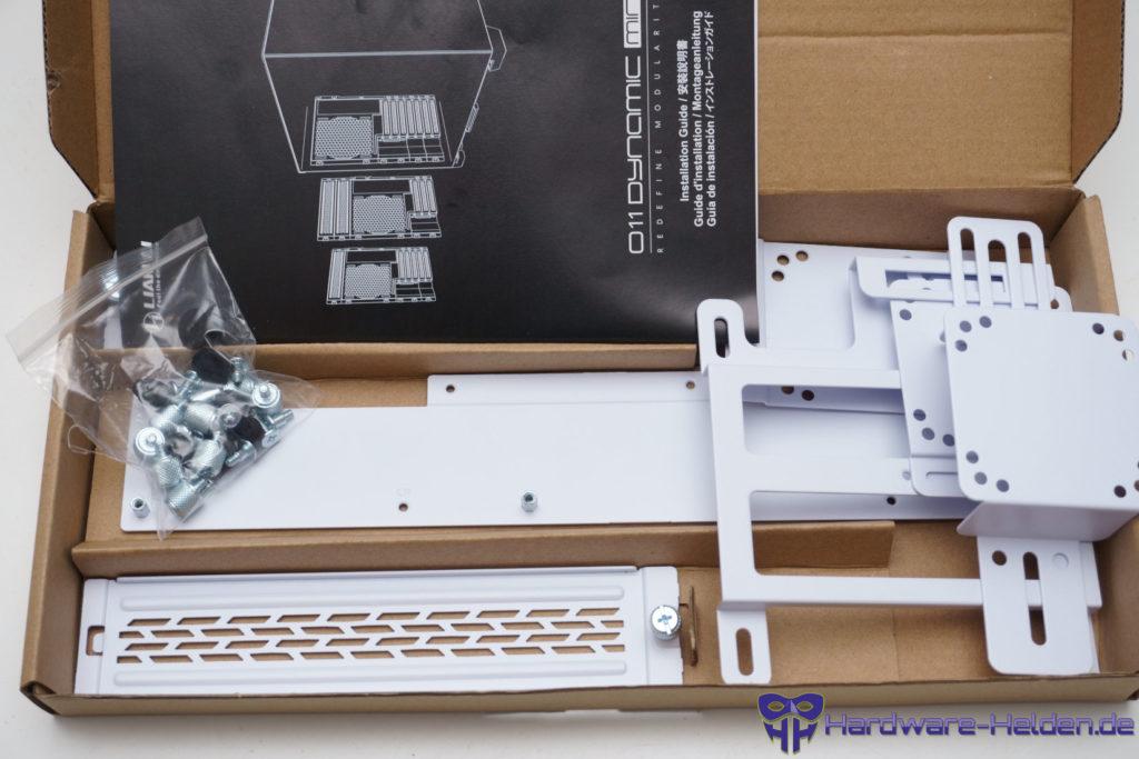 Lian Li O11 Dynamic Mini Snow Edition unboxing