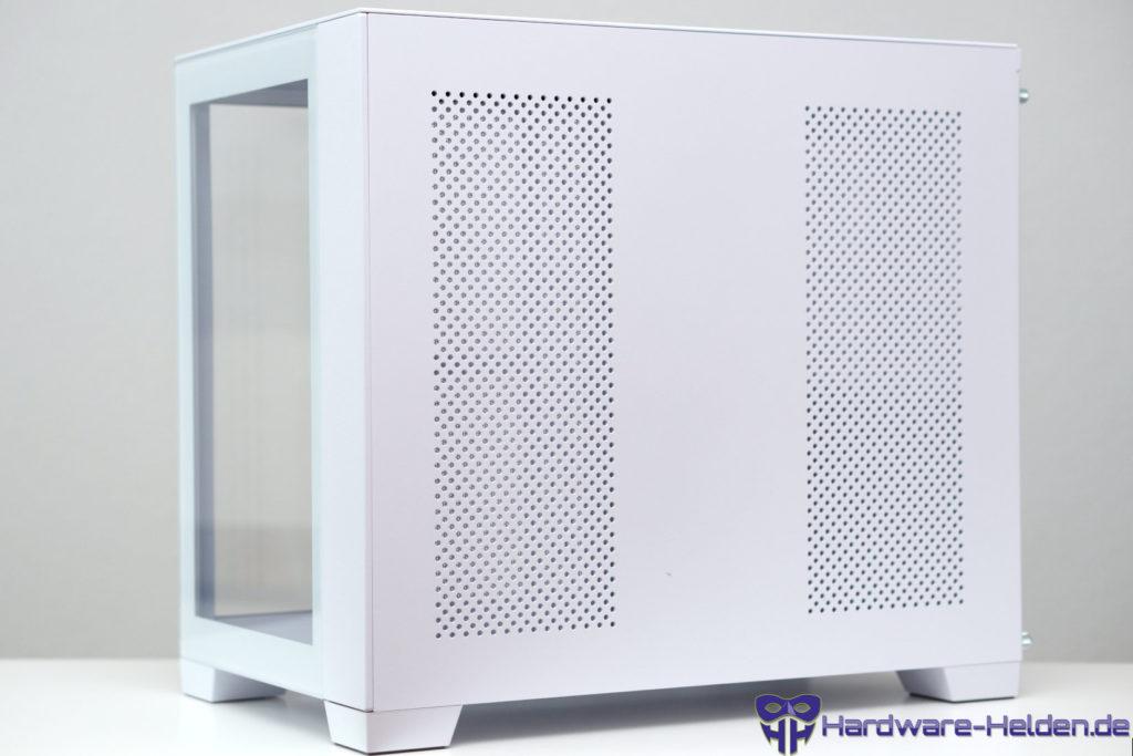 Lian Li O11 Dynamic Mini Snow Edition right side